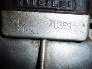41G3L engine number