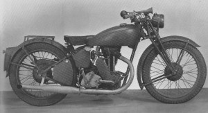 Experimental 250cc Matchless W40-G2D 1940