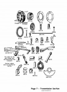 P7 Transmission section